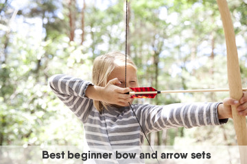best beginner bow and arrow set